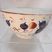 Gaudy Welsh Bowl
