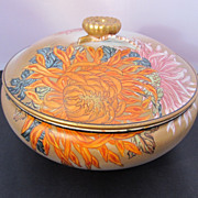 SALE Erotic  Japanese Covered Bowl Early 20th Century