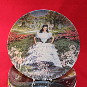 Four Collectable plates Knowles Limoges Calhoun