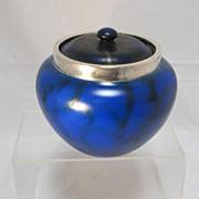 English Art Pottery Covered Jar