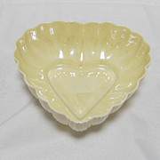 Belleek Heart Plate