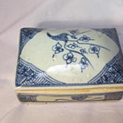 Antique Chinese Porcelain Box