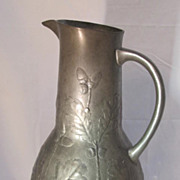 SALE Kayserzinn  Pewter Pitcher