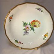 Royal Copenhagen Soup Plate Floral