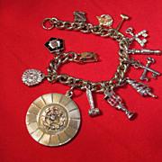 REDUCED Eastern Star Charm Bracelet