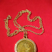 1776 Medallion Necklace