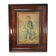 Antique Baxter Color Print