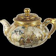 SALE Meiji Period Japanese Satsuma Teapot