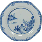 Chinese Export Plate Circa 1700's