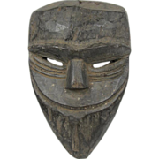 African Carved  Wood Mask Dan/Bassa