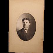 Cabinet Card Gentleman from Iowa