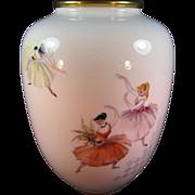 Rosenthal Porcelain Ballet Dancer Vase