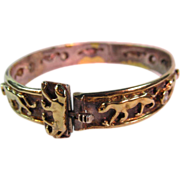 SALE Vermeil Panther Bracelet