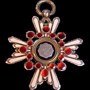 Oriental Silver/Enamel Medal