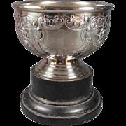 Antique English Britannia Silver Plated Rose Bowl