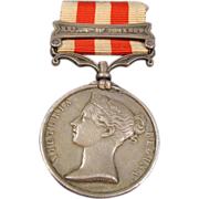Indian Mutiny 1857-1858 Victoria Lucknow Medal