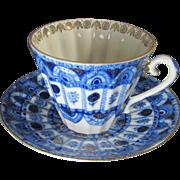 Russian Porcelain Cup & Saucer