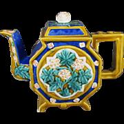 Majolica Type Tea Pot