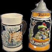 Miniature German Stein & Mug