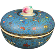 Signed Japanese cloisonne Box