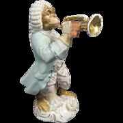 Antique Monkey Band Figurine