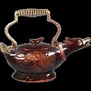 Ceramic Duck Teapot