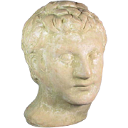 3rd Emperor Caligula Terracotta Head