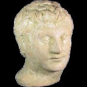 3rd Emperor Caligula Terracotta Head