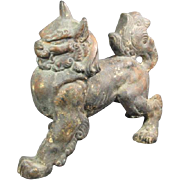 Chinese Iron Foo Dog/Lion