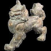 Chinese Iron Foo Dog/Lion