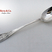 Platter Spoon Italian William Gale 1860 Sterling Silver Monogram EMG