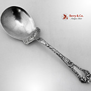 Gorham Poppy Berry Spoon Sterling Silver 1902