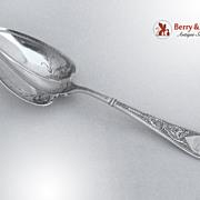 Raphael Gorham Sterling Silver Berry Spoon 1874
