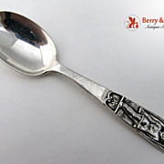 Sunday Child Baby Spoon Shreve and Company Sterling Silver 1910 No Monogram