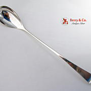 Arts and Crafts Lemonade Spoon Arthur Stone Sterling Silver