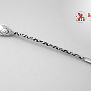 Lettuce Fork Pond Lily Number 26 Whiting Sterling Silver 1885