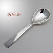 Acadia Blok Berry Spoon Georg Jensen Sterling Silver