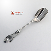 Ivy Cheese Scoop J L Westerwelt Sterling Silver NY 1870