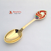 Christmas Spoon 1971 Michelsen Sterling Silver