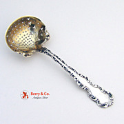 Louis XV Sugar Sifter Whiting Sterling Silver 1891
