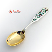 Christmas Spoon 1955 Michelsen Sterling Silver
