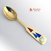 Christmas Spoon 1954 Michelsen Sterling Silver