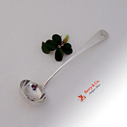 Scottish Provincial Toddy Ladle Perth Robert Keay II 1845 Sterling Silver W