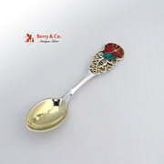 Christmas Spoon 1925 Michelsen Sterling Silver