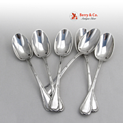 Bougainville Set of 6 Teaspoons Sterling Silver Puiforcat