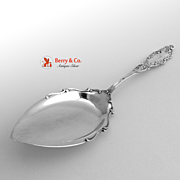 Luxembourg Pie Server Gorham Sterling Silver 1893
