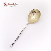 Cane Small Berry Spoon Sterling Silver Frank Whiting 1895