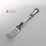 SALE Buttercup Dinner Fork Sterling Silver Gorham Patent 1899