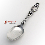 Lily Teaspoon Sterling Silver Whiting 1907