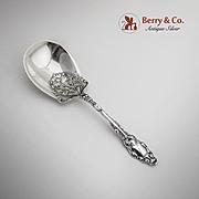 Virginiana Berry Casserole Spoon Sterling Silver Gorham 1904